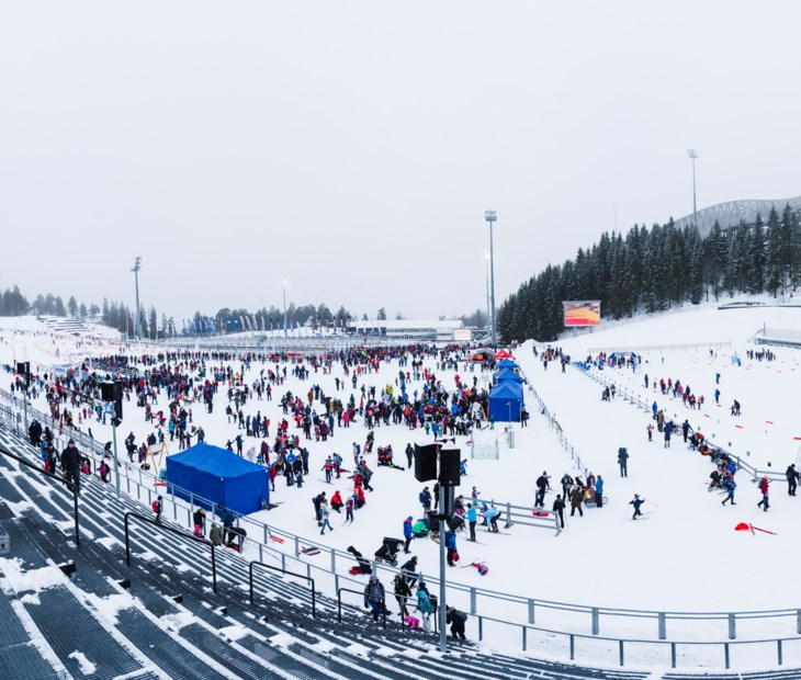 Arenaen i Holmenkollen.