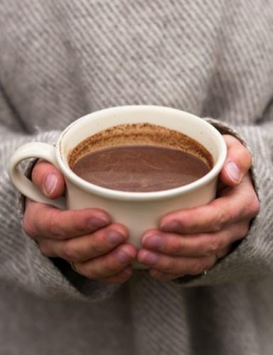 Kopp med kakao